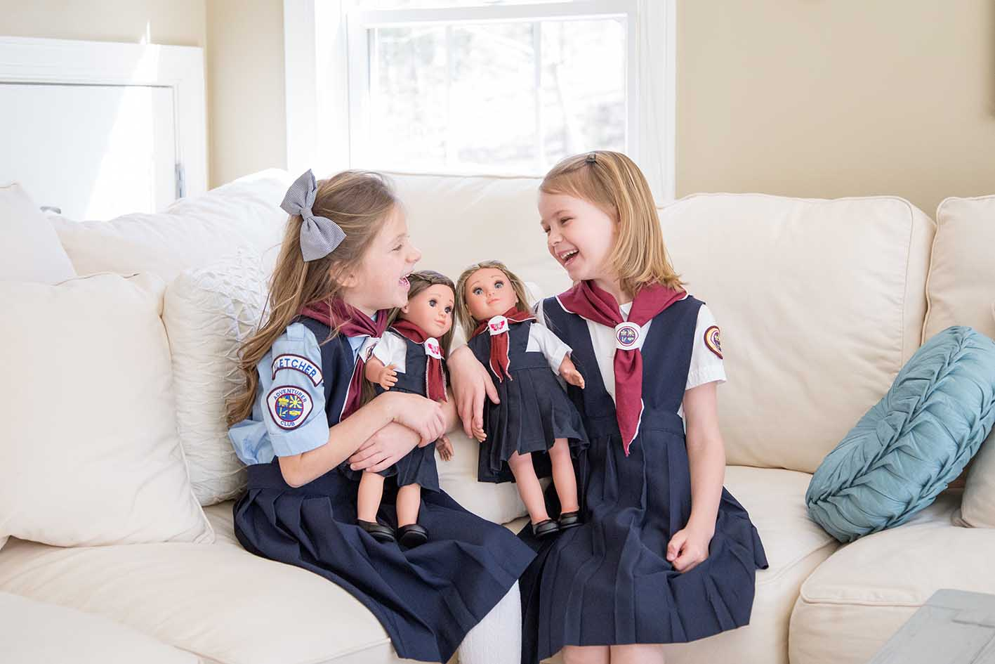 Girls of Faith, doll care