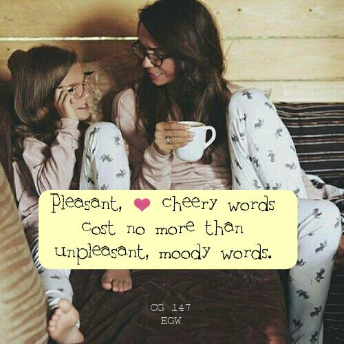 Cheery Words Quote