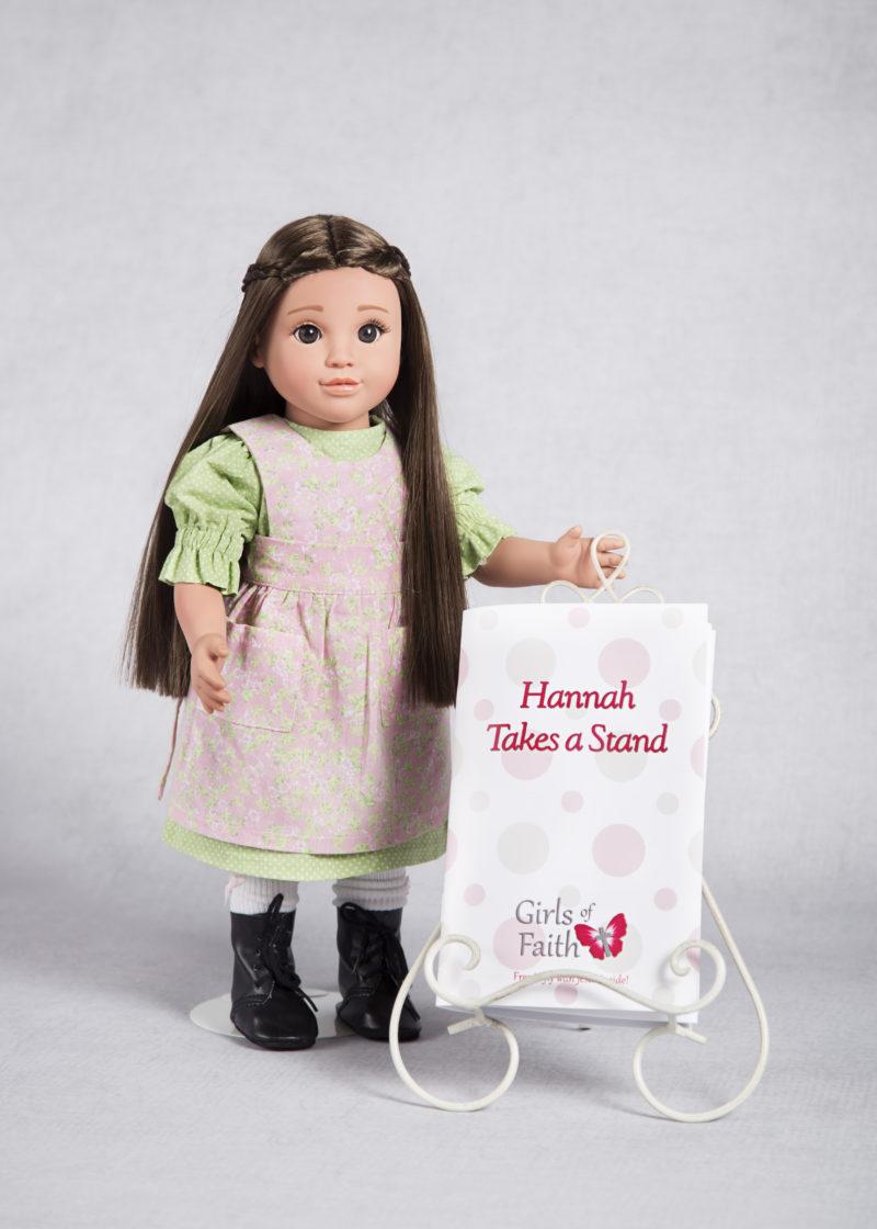 hannah doll and book girls of faith dolls